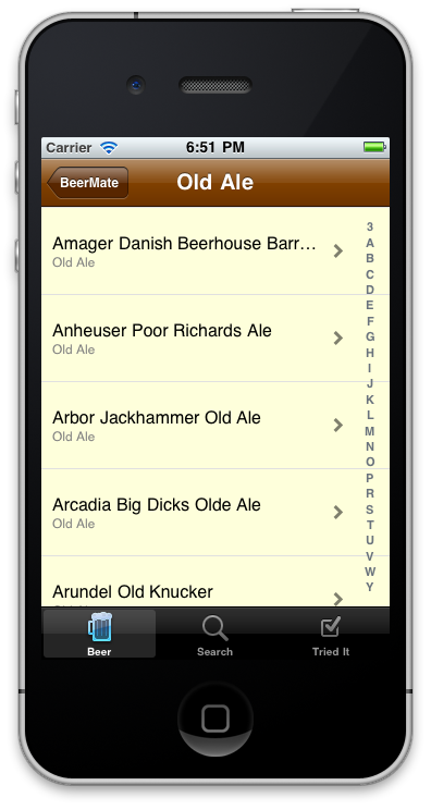 Beer Mate for the iPhone - Free