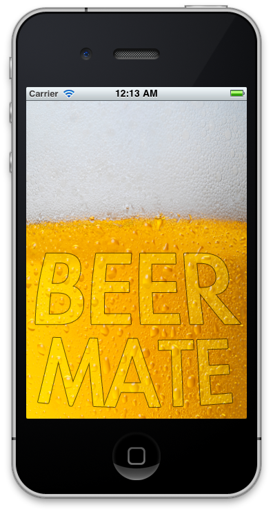 Beer Mate App - for the iPhone